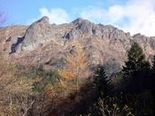 紅葉の横岳と大同心