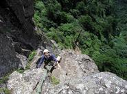 ボク岩を登ると若くなっちゃうんです。