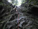 大棚12mの登攀