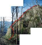 碧岩西稜全景
