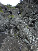 クーロアールを登る