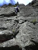 リーダーピッチを登る